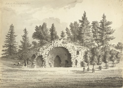 Grotto in the park at Bulstrode f.14
